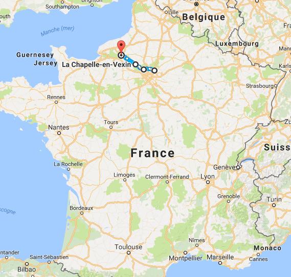 1a. Capture Aéroport C.D.Gaulle vers Rouens
